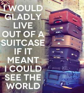 Living Out of a Suitcase