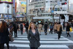 Shibuya Crossing- Tokyo