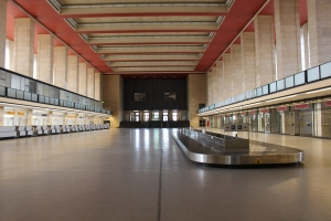 Empty Arrival Halls